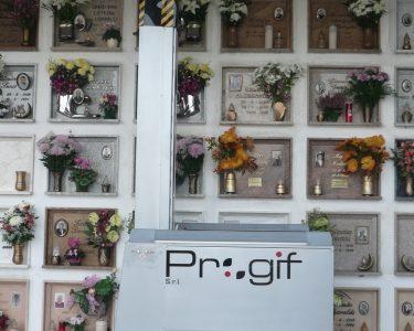 Elevatore per visitatori cimitero ECV