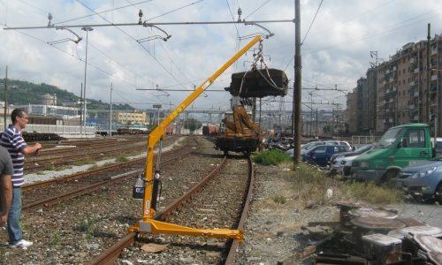 Gruetta manuale Ferroviaria FS 08